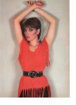 Pat Benatar Loverboy teen magazine pinup clipping red fun shirt Rockline 80's