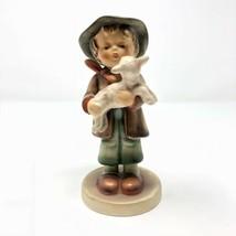 Vintage THE LOST SHEEP 68 Goebel Hummel Boy Sheep Figurine TMK3 West Ger... - $59.39