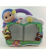 Playskool Gloworm Slumbertime Soother Baby Crib Toy Light up Lullaby 2003 - $47.47