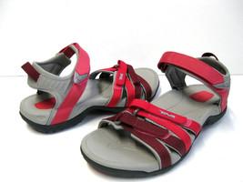 TEVA TIRRA RED GARDIENT WOMEN SANDALS US 6 /UK 4 /EU 37 /JP 23 - £56.44 GBP