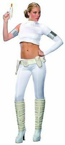 Secret Wishes Star Wars Padme Amidala Princess Adult Halloween Costume 888745