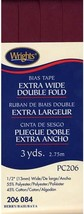 """Wrights 1/2"""" Extra Wide Double Fold bias tape PC 206 - 3 Berry  206 084 - $7.55"""