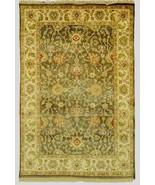Jaipur Brand New Gray Wool Authentic Handmade Carpet 5' x 9' Rug - $1,151.92