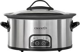Crock-PotA - 6qt Slow Cooker - Stainless Steel - $111.79