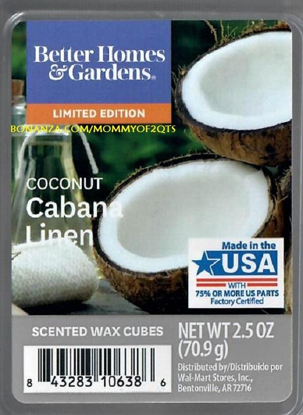 Soy Wax Tarts Cabana Coconut Wax Melts 3 oz Soy Wax Melts