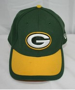 Green Bay Packers Cap ~  Green / Gold with Embroidered Logo ~ Size Med / Lg - $11.39
