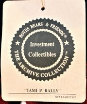 Boyds Bears Plush Tami P. Rally Plush Cheerleader Bear School Collection image 7