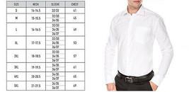 Men's Fashion Fit Long Sleeve Button Down Pocket Pattern Dress Shirt image 2