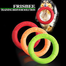Funny Pet Dog Bite Training Floating Plate Toy EVA Ring Chew Lightweight Toys - $5.32