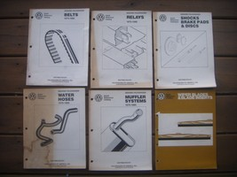 Volkswagen of America Parts Dept. Quick Reference Catalog's Set of (6). ... - $26.73