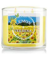 Bath & Body Works Lemon Verbena Three Wick 14.5 Ounces Scented Candle - $23.95