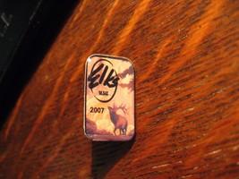 B.P.O.E. Lapel Pin - 2007 American Elks Grand Lodge Club USA Member Hat Pin - $10.88