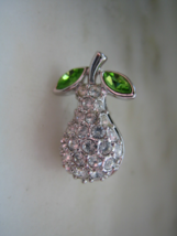 AUTHENTIC SWAROVSKI PEAR PIN or BROOCH - $35.00
