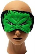 Marvel HULK 7x3 in Sleeping Eye Mask Light-Blocking Cover with Elastic H... - $9.88