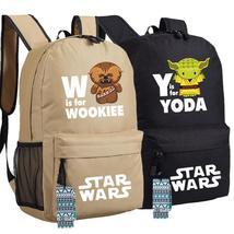 Star Wars Backpack Bag - Yoda & Wookiee - $29.95