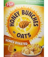 Honey Bunches of Oats Cereal, Honey Roasted, 14.5 oz - $11.28