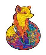 "Unidragon Wooden Jigsaw Puzzles ""Alluring Fox"" Laser Cut Jigsaw Puzzle -... - $39.99"