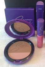 MAC SELENA TECHNO CUMBIA POWDER BLUSH & BIDI BIDI BOM BOM FULL SIZE & SO... - $65.00
