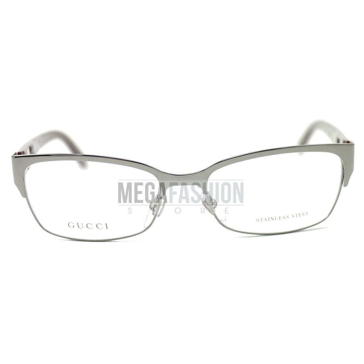 52ac40505ee New Gucci Eyeglasses GG 4214-9S5 Silver and 50 similar items