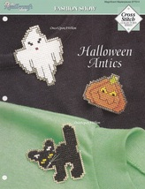 Halloween Antics, The Needlecraft Shop Cross Stitch Pattern Leaflet 977014 - $1.95