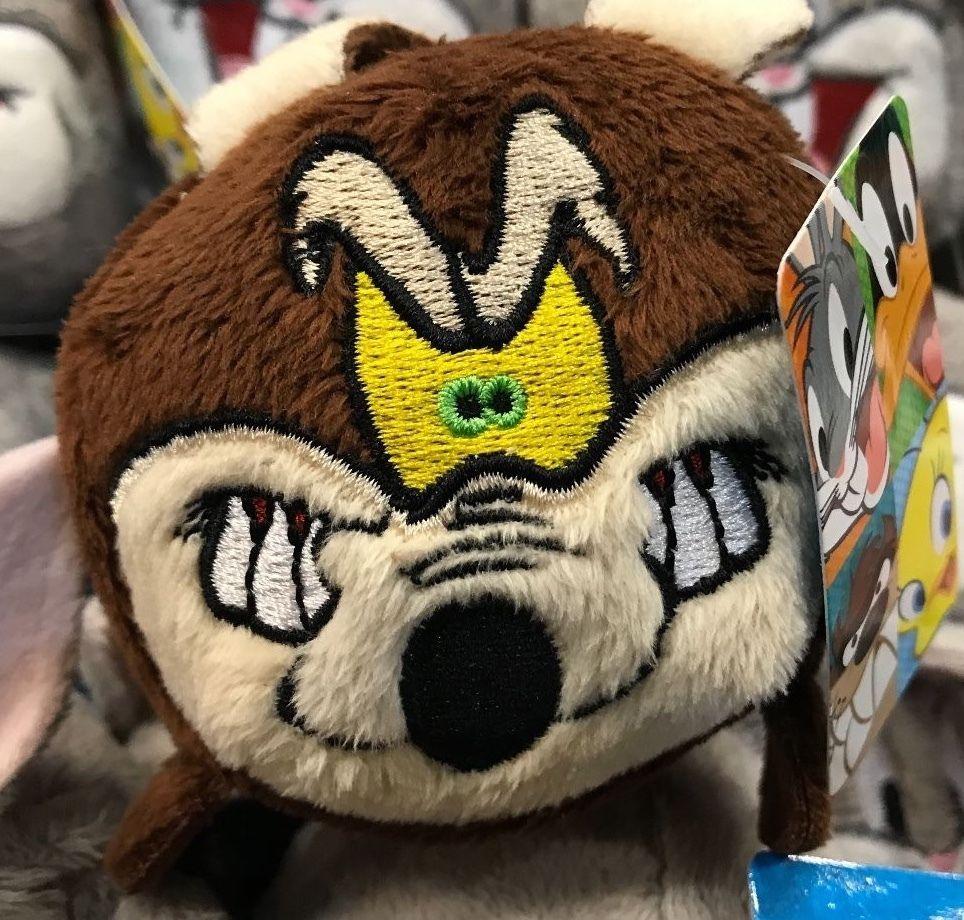 Six Flags Magic Mountain Looney Tunes Wile E Coyote Small Tube Plush New