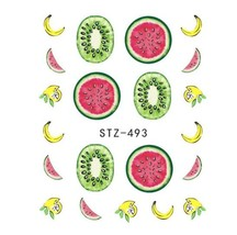 "HS Store - 1 pcs ""STZ-493"" Summer Fruit Drinking Stickers For Nail Art - $2.29"