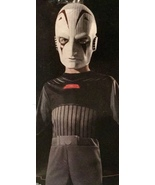Star Wars THE INQUISTOR - Full Costume And Mask - Boys Size 8/10.  Role ... - $12.94