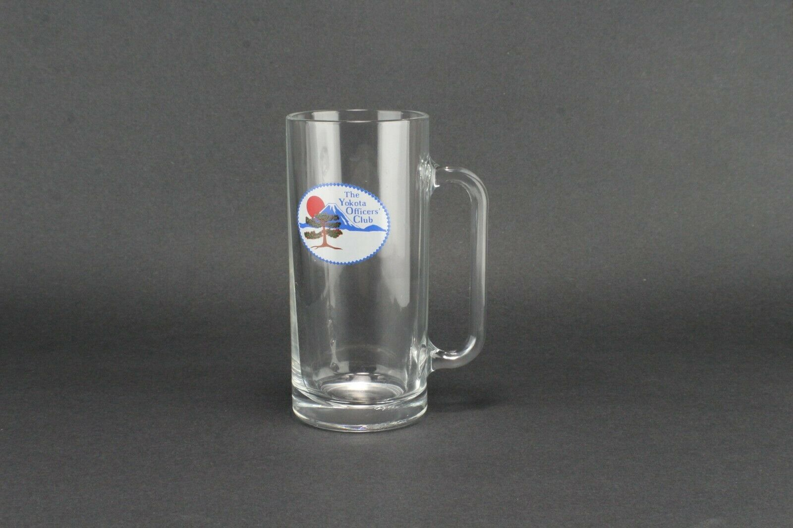 The Yokota Officers Club Glass Mug Air force Club - $18.81