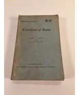 Essentials Of Radio MA 887 - Slurzberg, Osterheld - 1948 - U.S. Armed Fo... - $19.99