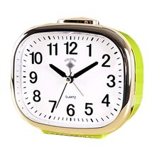 George Jimmy Cute Student Alarm Clock Stylish Silent Bedside Alarm Clock #39 - $36.18