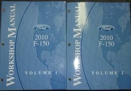 2010 Ford F-150 F150 Camion Servizio Negozio Officina Riparazione Manual Set OEM - $227.65