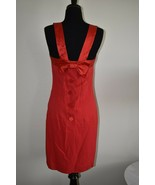 Vintage Dress by Virgo II Red Sexy Present Frock Size 6  - $15.43