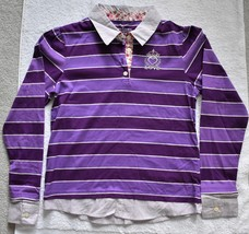 Faded Glory Girl's Striped Collared Shirt - $8.99