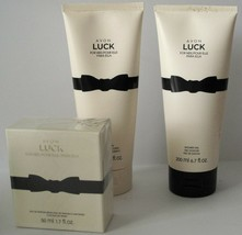 Avon Luck for Her Women's Fragrance Bundle, Spray, Body Lotion, Shower Gel - $26.75