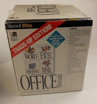 Microsoft Office Standard Trade-up Edition 4.2 1994 Floppy Disks - New S... - $56.09