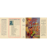 Edgar Rice Burroughs THE MASTER MIND of MARS facsimile jacket - 1st Gros... - $21.56