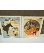 CED Videodisc Walt Disney Escape to Witch Mountain and the Black Stallio... - $9.49