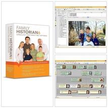 Family Historian 6 Genealogy and Family Tree PC Software - $68.00