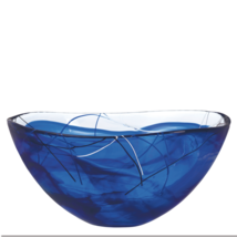 Kosta Boda Serveware Blue Contrast Bowl, 3 Sizes - €42,62 EUR+