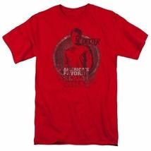 Dexter T-shirt Blood Splatter TV horror show cotton graphic tee SHO334 Red  image 2