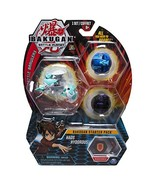 Bakugan Starter Pack 3-Pack, Haos Hydorous, Collectible Transforming Cre... - $22.24