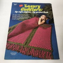 Vintage Luxury Cuddlers: The Right Afghan, The Perfect Stole Pattern # 7620 - $9.89