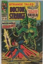 Strange Tales #162 ORIGINAL Vintage 1967 Marvel Comics Dr Strange Nebulos - $39.59