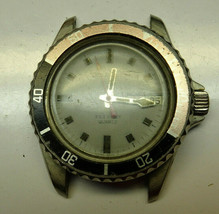 Vintage Bulova Caravelle 333ft Diver COLA Bezel QUARTZ WATCH TO RESTORE ... - $114.89