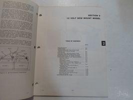 1977 Evinrude Service Shop Repair Manual Electric EB 52 54 82 84 OEM Boat WORN image 7