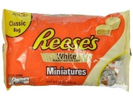 Reese's Peanut Butter Cups White Miniatures Chocolate - $11.73