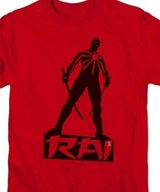 Rai T Shirt Valiant Comics graphic tee Bloodshot X-O Manowar cotton red VAL169 image 2