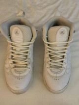 Nike Mens White Leather Jumpman Pro Shoes SNEAKERS White 906876-100 Sz 9 - $39.59