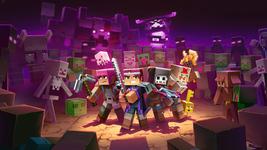 "Minecraft Dungeons Poster Video Game Art Print Size 11x17"" 24x36"" 27x40"" 32x48"" - £7.89 GBP+"