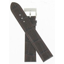 Hamilton 20mm Brown Alligator Grain Jazzmaster Series Watch Band H600324101 - $138.60